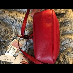 Gucci Bags - Red Gucci Disco Bag ❤️❤️